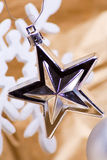 Single Christmas star Royalty Free Stock Photos