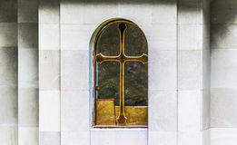 Single church window Royalty Free Stock Photos