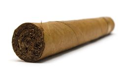 Single Cigar Royalty Free Stock Photo