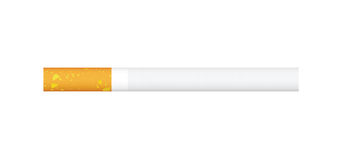 Single cigarette in  Stock Photography