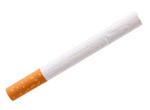 Single cigarette with filter Stock Images