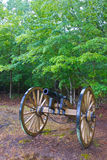 Civil War Cannon at Shiloh Stock Image