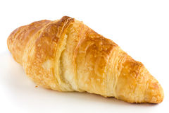 Single classic croissant Royalty Free Stock Image