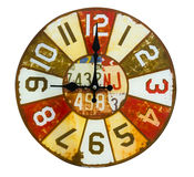 Single clock subject. Royalty Free Stock Images