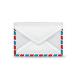 Single closed envelope isolated Stock Images