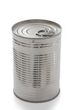 Single closed tin can Stock Images