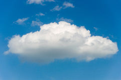 The Single cloud. Royalty Free Stock Image