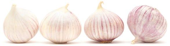 Single clove garlic Stock Photos