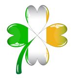 Single clover leaf Stock Photo
