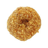 Single coconut flaked donut Stock Images