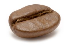 Single Coffee Bean Stock Photos