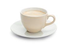 Single  Coffee Cup Stock Photography