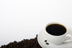 Single Coffee Cup Royalty Free Stock Photography