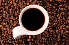 Single coffee cup Stock Image
