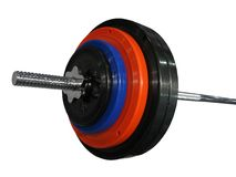 Single colorful sport weight isolated, Royalty Free Stock Image