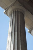 Single Column Stock Photo