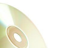 Single Compact Disc Royalty Free Stock Image