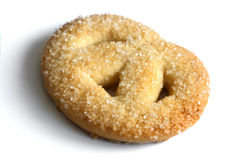 Single cookie close-up. Stock Photography