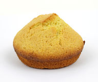 Single corn muffin Royalty Free Stock Image