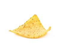Single corn tortilla chip  Stock Photography