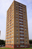 Single council tower block Royalty Free Stock Photos