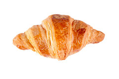 Single croissant Royalty Free Stock Photo