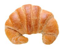 Single croissant Stock Photography