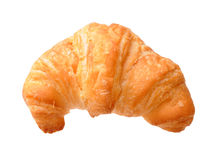 Single croissant isolated Stock Photography