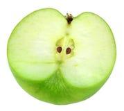 Single cross of green apple Royalty Free Stock Photography