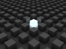 Single cube Stock Images
