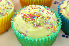 Single Cup Cake Royalty Free Stock Photo