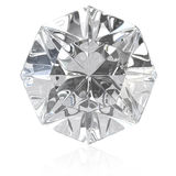 Single cut diamond Stock Image