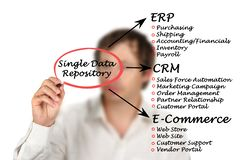 Single Data Repository Stock Photos