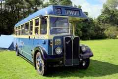 Single deck bus. Royalty Free Stock Images