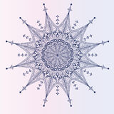 Single detailed snowflake Stock Photos