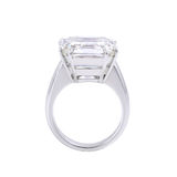 Single diamond ring. Stock Image