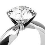 Diamond Rings Royalty Free Stock Photography