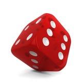 Single dice Royalty Free Stock Image
