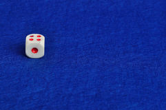 A single dice Stock Photography