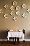 Single dining table Royalty Free Stock Image