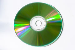 Single disc cd dvd Stock Photography