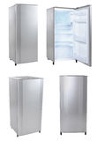 Single door refrigerator Stock Image