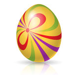 Single easter egg Stock Photos