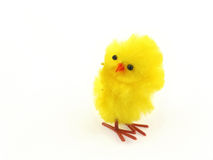 Single easter toy chicken Royalty Free Stock Photo