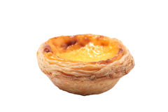 Single egg tart Stock Image