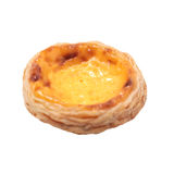 Single egg tart Royalty Free Stock Image