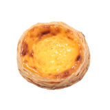Single egg tart Royalty Free Stock Photography
