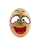 Single eggs Royalty Free Stock Images