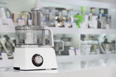 Single electric food processor in retail store Stock Images