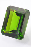 Single Emerald Cut Stone Royalty Free Stock Image